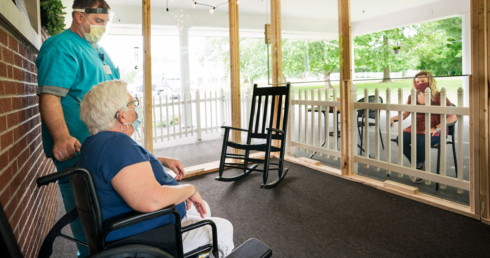 Nursing Homes Roll Out AppointmentPlus for Visitation Appointments